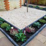 Buff Indian Sandstone paving with elegant Victorian rope edging in Kingston